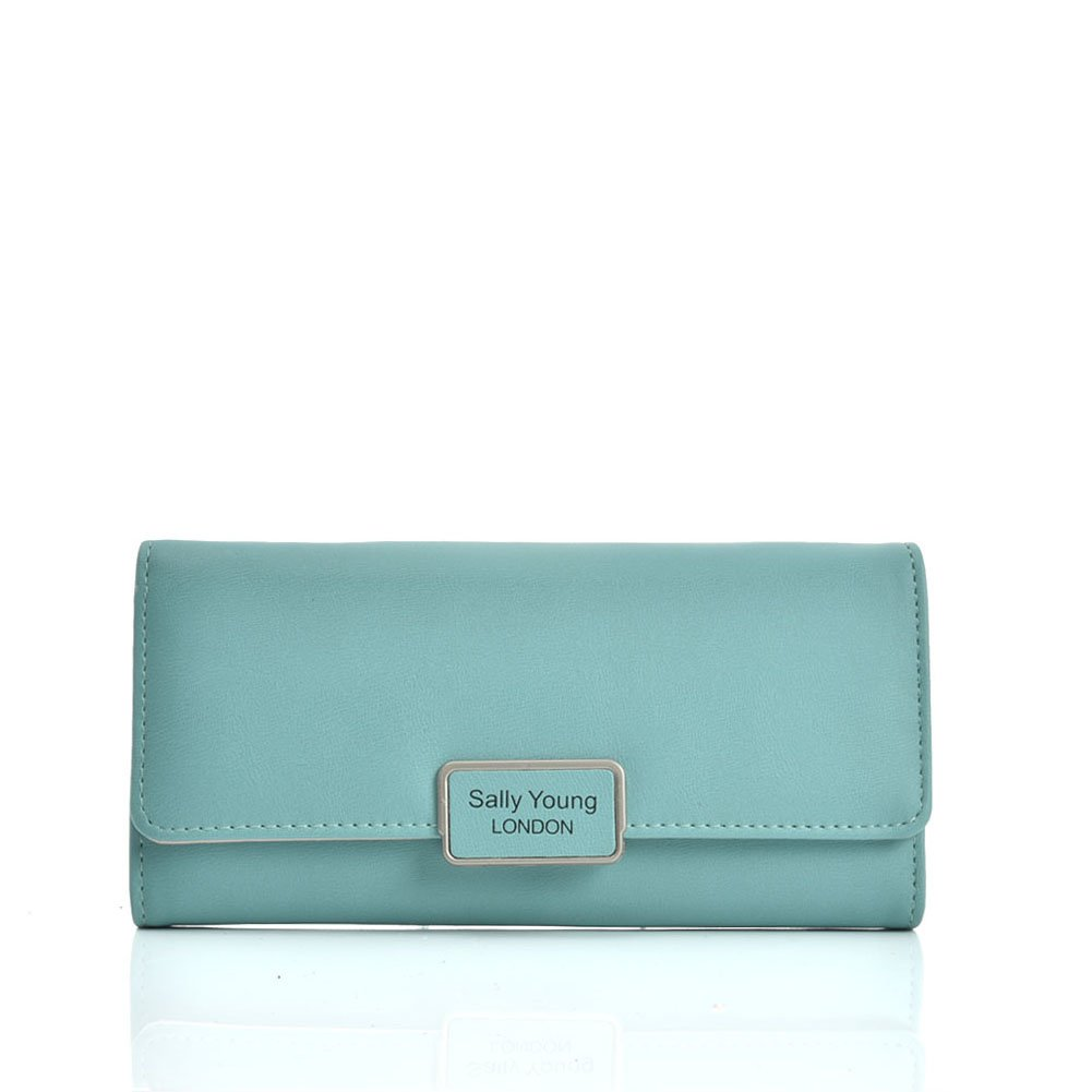 471af5871688 VKP1584 Green - Sally Young Fashion Wallet With FoldableDesign