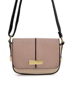 SY2173 DARK PINK – Handbag With Buckle Design