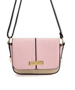 SY2173 PINK – Handbag With Buckle Design