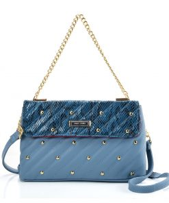 Blue Chain Handbag For Women