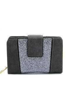 Short Women Wallet With Buckle