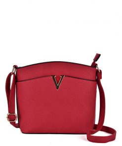 Women Red Cross Body Bag