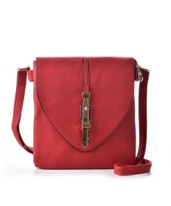 Women Cross Body Bag With Buckle