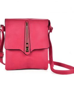 Women Cross Body Bag With Metal Lock