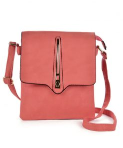 Pink Women Cross Body Bag