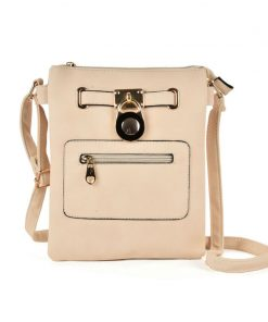 Women Cross Body Bag With Lock
