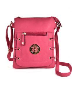 Women Zip Top Cross Body Bag