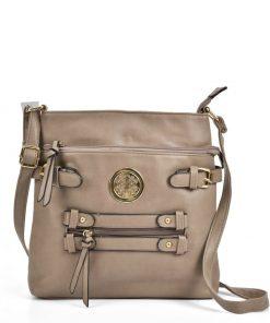 Women Khaki Cross Body Bag