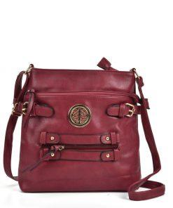 Women Red Crossbody Bag