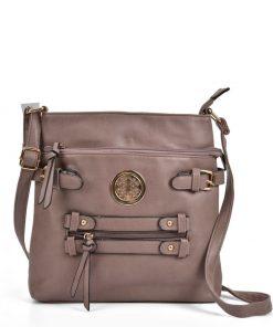 Women Zip Cross Body Bag