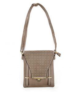 Women Khaki Cross Bag