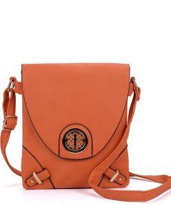 Women Orange Cross Body Bag