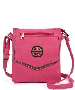 Women Fushia Classic Cross Body Bag