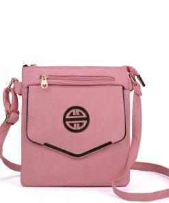 Pink Classic Cross Body Bag