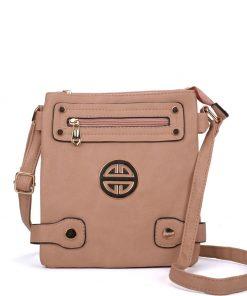 Women Apricot Cross Body Bag