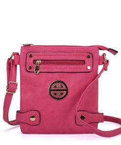 Fushia Cross Body Bag