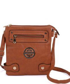 Women Crossbody Bag With Front Zip