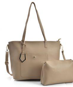 Women Dual-Use Set Bag With Studs