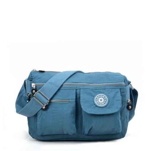 VK5414 Blue – Sports Waist Cross Body Bag