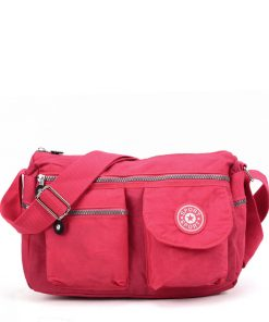 VK5414 Fushia – Sports Waist Cross Body Bag