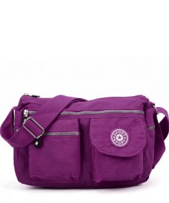 VK5414 Purple – Sports Waist Cross Body Bag