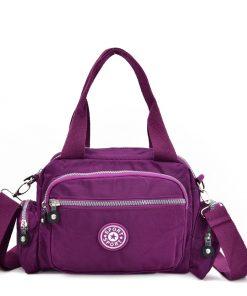 VK5415 Purple – Dual-Use Sports Waist Handbag