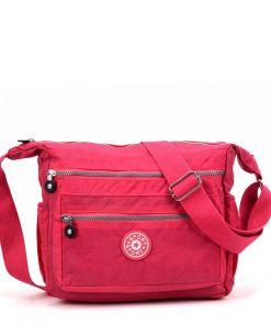 Women Pink Sports Waist Bag