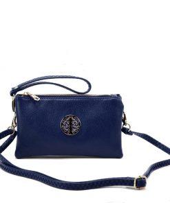Women Blue Cross Bag