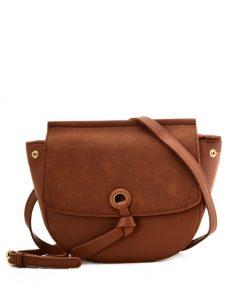 Brown Leather Handbag For Women