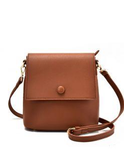 Simple Brown Handbag For Women