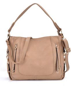 Simple Khaki Handbag