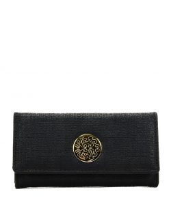 Women Wallet With Hardware Design