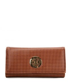 Women Wallet With Hardware Decoration
