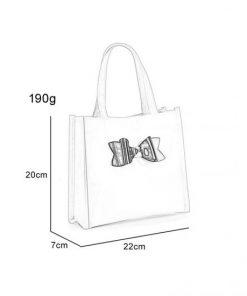 QQ2064-5 Grey – Boutique Glossy Shopper Bag Handbag with Zip