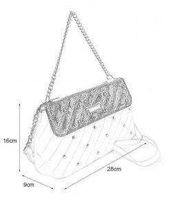 Blue Chain Handbag For Women