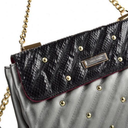 Grey Chain Handbag For Women