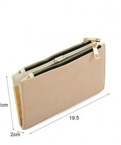 Ladies Long Wallet With Flap Design
