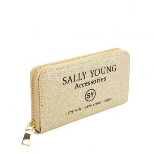 SY5062 GOLD – Long Wallet With Letter Printing