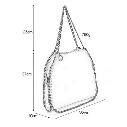 VK5326-2 YELLOW – Shoulder Bag With Chain Handel