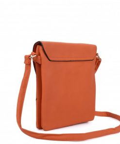 Cut About Flap Cross Body Bag