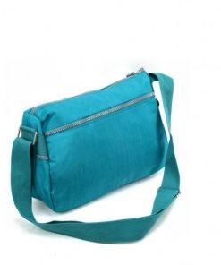 Women Green Waist Body Bag