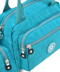 Women Green Waist Sports Bag