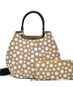 VK2127 KHKAI – Simple Set Bag With Dot And Special Handle Design